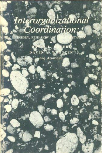9780813809861: Interorganizational Coordination: Theory, Research, and Implementation