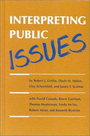 Interpreting Public Issues: Robert J. Griffin,