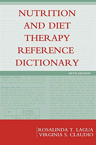 9780813810027: Nutrition and Diet Therapy Reference Dictionary