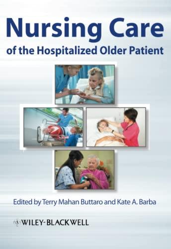 9780813810461: Nursing Care of the Hospitalized Older Patient