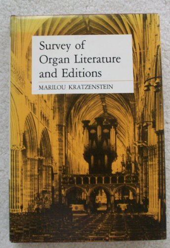 9780813810508: Survey of Organ Literature and Editions
