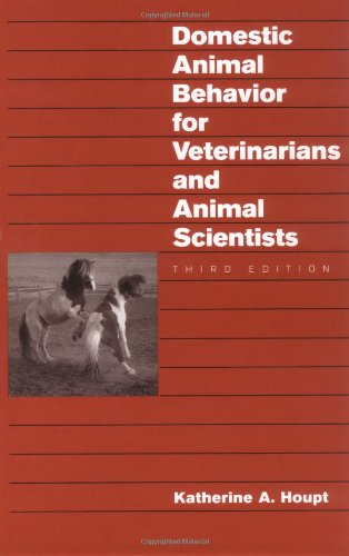 9780813810614: Domestic Animal Behavior for Veterinarians and Animal Scientists