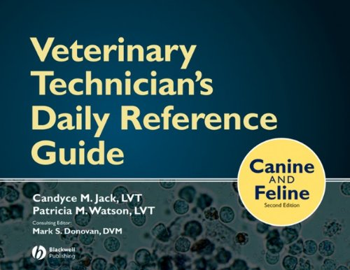 9780813812045: Veterinary Technician's Daily Reference Guide: Canine and Feline