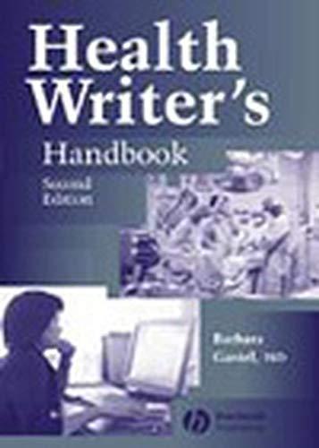 9780813812533: Health Writer's Handbook