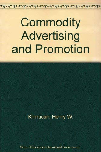 Commodity Advertising and Promotion