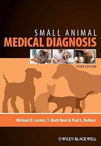 9780813813387: Small Animal Medical Diagnosis