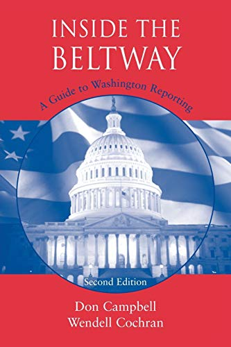 9780813814940: Inside the Beltway: A Guide to Washington Reporting