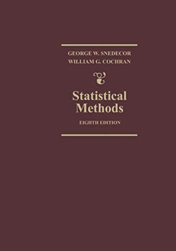 9780813815619: Statistical Methods