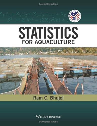 9780813815879: Statistics for Aquaculture