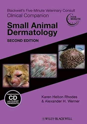 9780813815961: Blackwell's Five-Minute Veterinary Consult Clinical Companion: Small Animal Dermatology