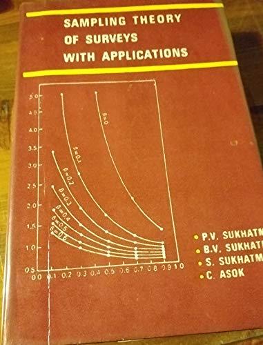 Sampling Theory of Surveys With Applications: Pandurang V. Sukhatme