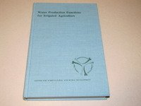 9780813817859: Water Production Functions for Irrigated Agriculture