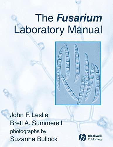 9780813819198: The Fusarium Laboratory Manual