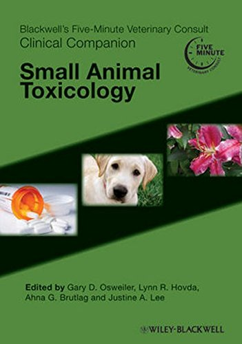 9780813819853: Blackwell's Five-Minute Veterinary Consult Clinical Companion: Small Animal Toxicology