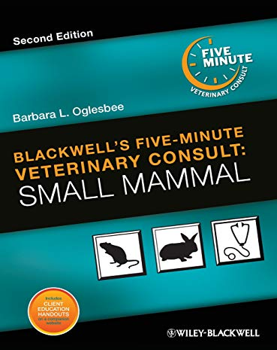9780813820187: Blackwell's Five-Minute Veterinary Consult: Small Mammal