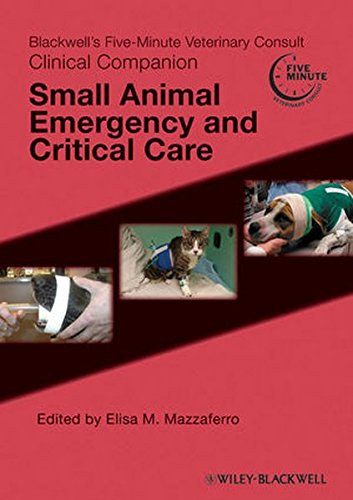 9780813820439: Blackwell's Five-Minute Veterinary Consult Clinical Companion: Small Animal Emergency And Critical Care