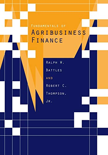 9780813820699: Fundamentals of Agribusiness Finance