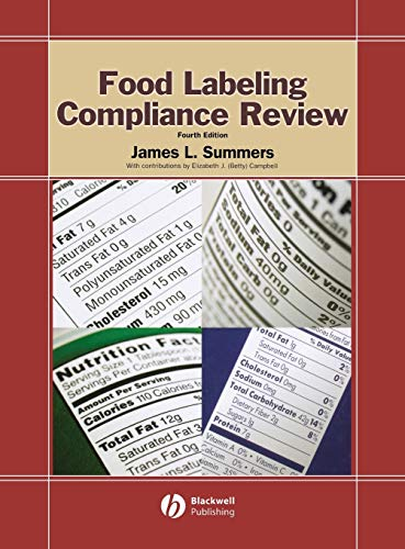 9780813821818: Food Labeling Compliance Review