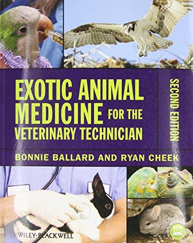 9780813822068: Exotic Animal Medicine for the Veterinary Technician