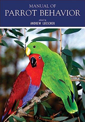 9780813827490: Manual of Parrot Behavior