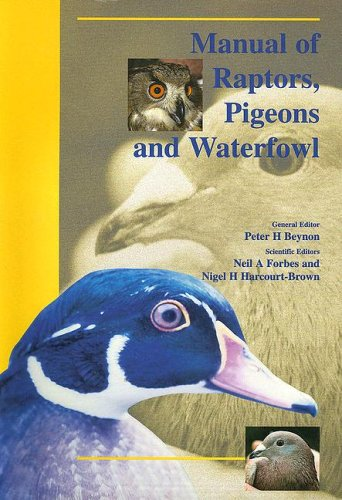 9780813828763: Bsava Manual of Raptors, Pigeons and Waterfowl (BSAVA manual series)