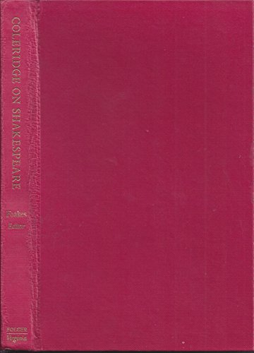9780813903408: Coleridge on Shakespeare; The Text of the Lectures of 1811-12. (Folger monographs on Tudor and Stuart civilization)