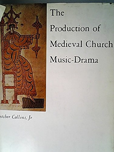 9780813903736: The Production of Mediaeval Church Music-drama