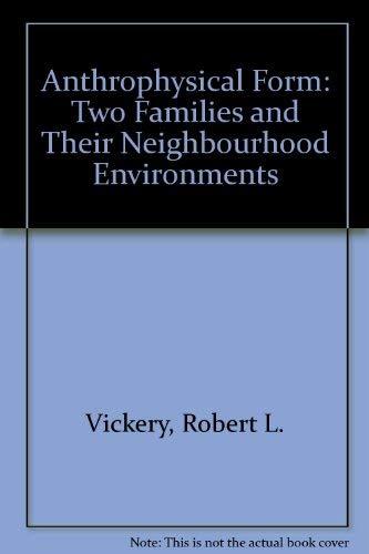 Anthrophysical Form: Vickery Jr. Robert L.