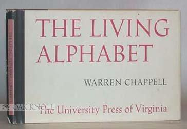 9780813906355: The Living Alphabet