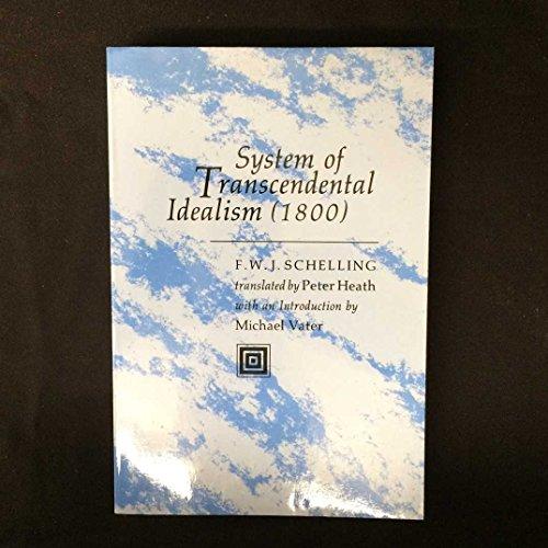 9780813907802: System of Transcendental Idealism