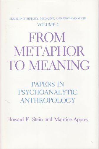 Series in Ethnicity, Medicine, and Psychoanalysis Volume 2: From Metaphor to Meaning: Papers in P...