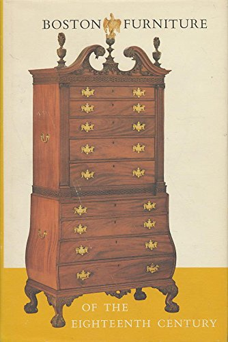 9780813911250: Boston Furniture of the Eighteenth (18th) Century (Colonial Society of Massachusetts)