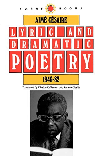 9780813912448: Lyric and Dramatic Poetry, 1946-82 (Caraf Books)