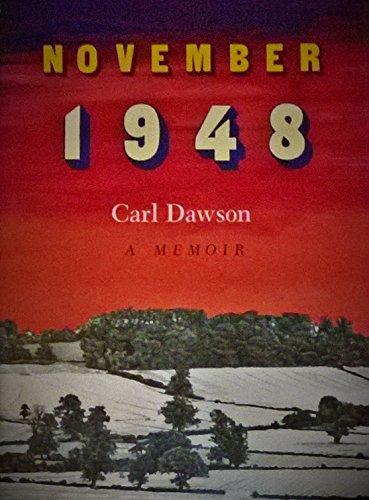9780813912585: November 1948: A Memoir