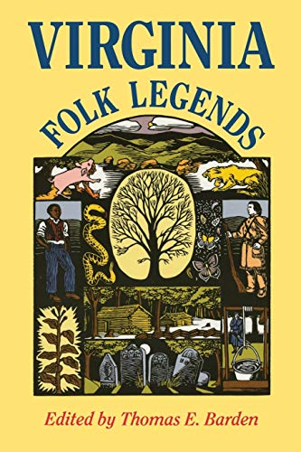 9780813913353: Virginia Folk Legends (Publications of the American Folklore Society. New Series)