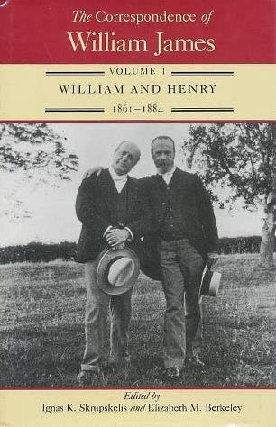 9780813913384: The Correspondence of William James: William and Henry, 1861-84 v. 1