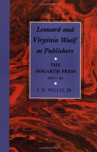 9780813913612: Leonard and Virginia Woolf as Publishers: The Hogarth Press, 1917-41