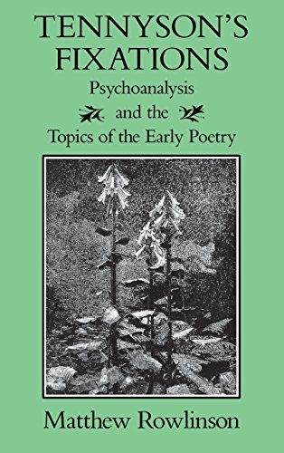 9780813914787: Tennyson's Fixations: Psychoanalysis and the Topics of the Early Poetry (Victorian Literature and Culture Series)