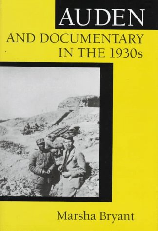 9780813917566: Auden and Documentary in the 1930s
