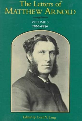 The Letters of Matthew Arnold (Hardcover): Matthew Arnold