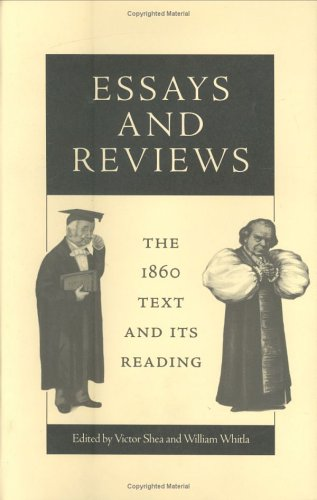 9780813918693: Essays and Reviews: The 1860 Text and Its Reading (Victorian Literature and Culture Series)