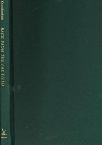9780813919539: Back from the Far Field: American Nature Poetry in the Late Twentieth Century (Under the Sign of Nature)