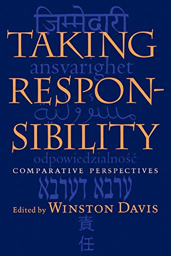 9780813920511: Taking Responsibility: Comparative Perspectives (Studies in Religion and Culture)