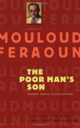 9780813923260: The Poor Man's Son: Menrad, Kabyle Schoolteacher