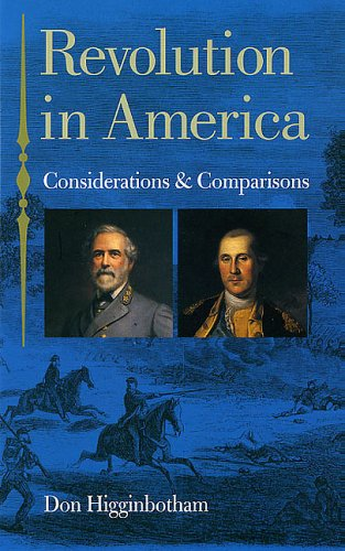 9780813923833: Revolution in America: Considerations and Comparisons (American History)
