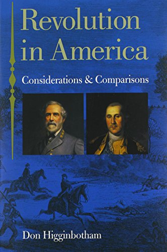 9780813923840: Revolution in America: Considerations and Comparisons (American History)
