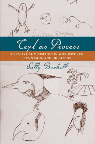 9780813927749: Text As Process: Creative Composition in Wordsworth, Tennyson, and Dickinson