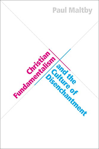 Christian Fundamentalism and the Culture of Disenchantment (Hardcover): Paul Maltby