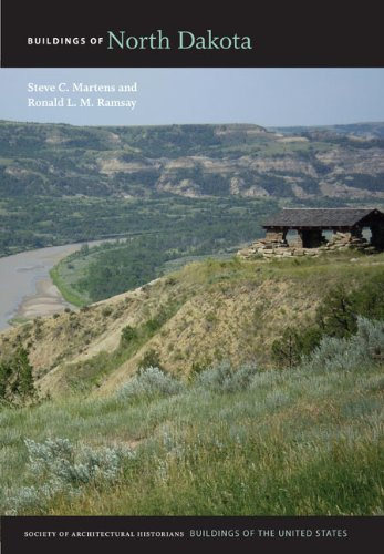 Buildings of North Dakota (Hardcover): Steve C. Martens