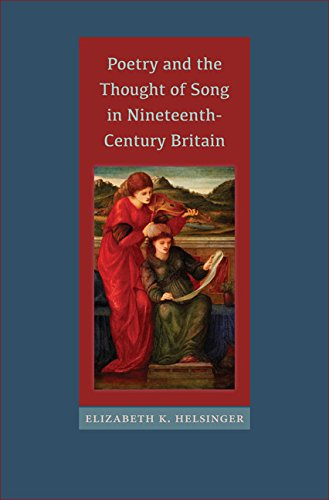 9780813938004: Poetry and the Thought of Song in Nineteenth-Century Britain (Victorian Literature and Culture Series)